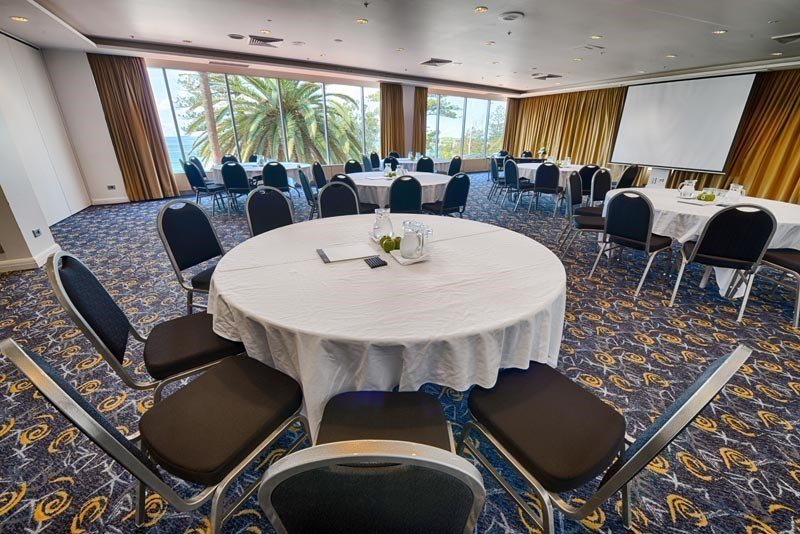 Most of our function rooms offer panoramic ocean views.