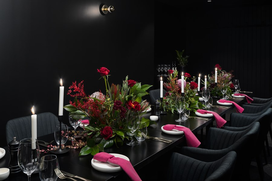 Miss Miley - Private Dinner Setting