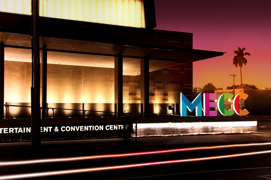 Mackay Entertainment and Convention Centre (MECC).