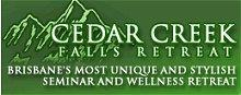 Cedar Creek Falls Retreat